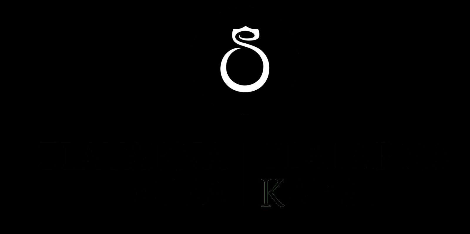 Logotip Zlatarna Aura in Karat najnovejši črno beli na transparentni podlagi 1 - Nuša in Poskočni pričarali prvi sneg