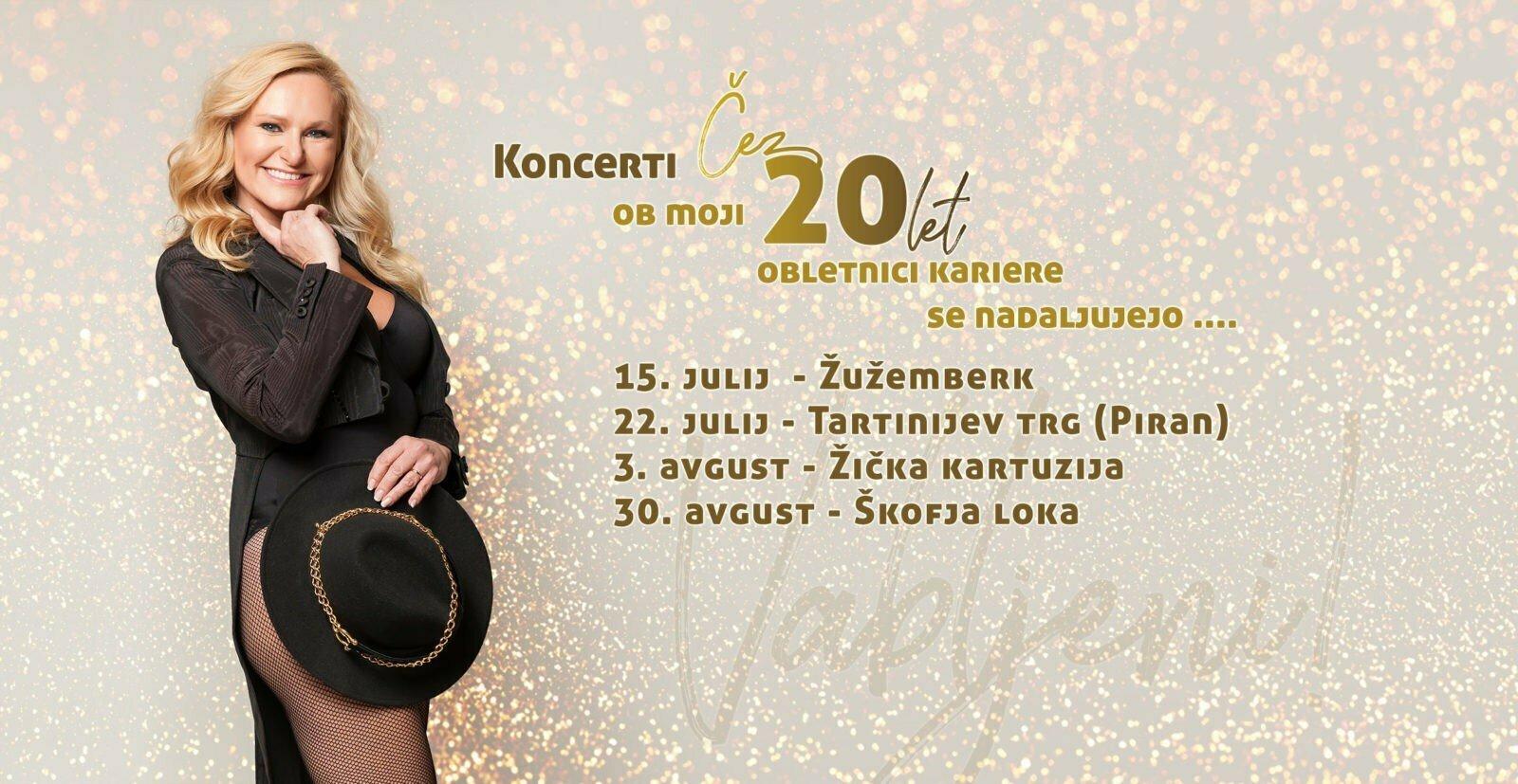 koncerti poletje - Srednjeveški koncert za 2 x 20 let!